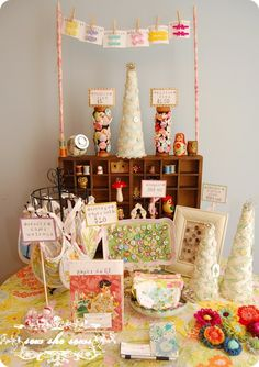 Beautiful Crafty Display!