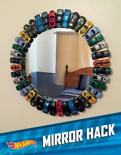 matchbox car mirror