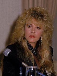 Lead Singer of Rock Group Fleetwood Mac, Stevie Nicks Premium Photographic Print