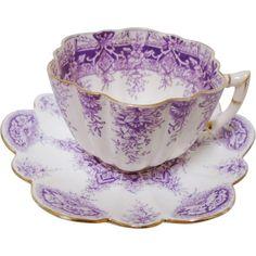 Tea Cup Set, My Cup Of Tea, Tea Cup Saucer, Tea Sets, Teapots And Cups, Teacups, Antique Tea Cups, China Tea Cups, Vintage Tea