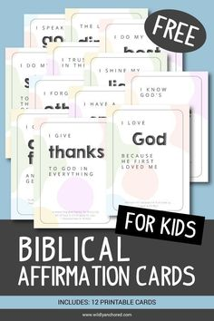 Why Biblical Affirmations For Kids Are Important