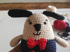 Doggy  - Free Crochet / Amigurumi Pattern #crochet #amigurumi #free #ravelry (Scroll DOWN for pattern in english)
