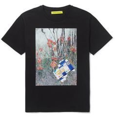 Raf Simons Sterling Ruby Printed Cotton-Jersey T-Shirt | MR PORTER