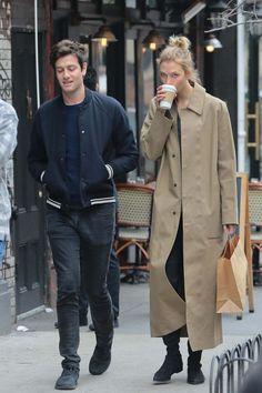 Karlie Kloss And Joshua Kushner Out Shopping In New York