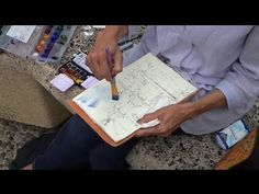 Watercolor Journaling in France with Dreama Watercolor Video, Watercolor Journal, Watercolor Pictures, Watercolor Paintings, Watercolors, Abstract Paintings, Oil Paintings, Acrylic Painting Tutorials, Watercolour Tutorials