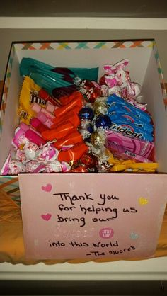 Labor and delivery nurse appreciation gift Thank You Nurses, Thank You Gifts, Teacher Christmas Gifts, Teacher Gifts, Delivery Nurse Gifts, Thank You Baskets, Nursing Home Gifts, Nurse Appreciation Gifts, Preschool Gifts