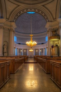 HDR in Helsinki: Inside Cathedral