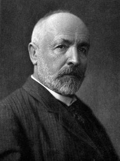 Georg Cantor, mathematician who discovered transfinite infinite sets and developed a mathenmatics of infinite sets, proving that the universe, life and human mind are infinte with no limits Axiom Of Choice, Kennedy School, Number Theory, Richard Feynman, Rational Numbers, Harvard Business School, Physicist, Human Mind, Celebrity Couples