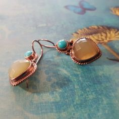 ‼️50% off Sale‼️Nicky Butler Chalcedony & Turquo Genuine sterling silver, chalcedony and turquoise drop earrings. Chalcedony stones are faceted which beautifully shows the depth of this stone. Comes with padded holder. Nicky Butler Jewelry Earrings