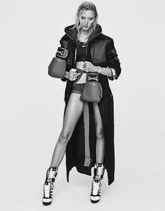 Anya Kazakova by Yu Cong for Harper's Bazaar China