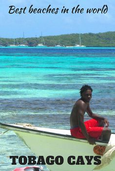 The most beautiful beaches I have ever seen in my entire life. Tobago cays Marine Par
