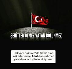 ☝ Şehitler ölmez, vatan bölünmez.  #şehitler #islam #müslüman #asker #rahmet #acil #şifa #türkiye #istanbul #hakkari #çukurova #hayırlıcumalar
