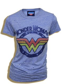 Junk Food Clothing Wonder Woman T-shirt Wonderwoman Shirt, Batman T Shirt, Looks Style, Style Me, Geile T-shirts, Junk Food Clothing, Wonder Woman Logo, T Shirts For Women, Clothes For Women