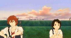and Chiaki 時をかける少女 [The Girl who Leapt Through Time] by Mamoru Hosoda時をかける少女 [The Girl who Leapt Through Time] by Mamoru Hosoda Anime Couples Manga, Cute Anime Couples, Anime Manga, Anime Art, Wolf Children Ame, Mamoru Hosoda, Hotarubi No Mori, Fanart, Naruto