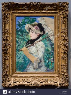 Spring by Edouard Manet | Spring By Edouard Manet, 1881 - Smithsonian National Gallery Of Art ...