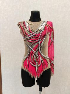 Rhythmic Gymnastics, Lace Making, Aerobics, Leotards, Russia, Trending Outfits, Hot, Sleeves, Fabric