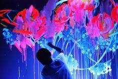 Fosforescent grafitti...
