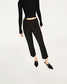 Image 2 of TROUSERS WITH STRETCH WAIST from Zara