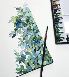 Ideas For Plants Drawing Botanical Illustration Watercolor Painting Painting Inspiration, Art Inspo, Design Inspiration, Design Ideas, Illustrator, Arte Sketchbook, Fashion Sketchbook, Sketchbook Ideas, Watercolor Illustration
