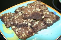 Black Soybean Chocolate Brownies  -the black soybeans decrease fat content and add moisture & protein