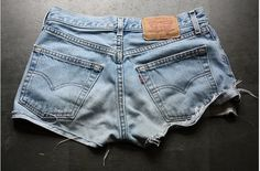Perfect jean shorts (jorts)