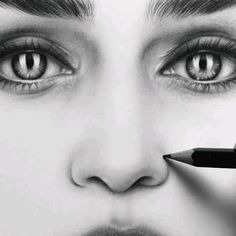 Abstract Pencil Drawings, Realistic Pencil Drawings, Art Drawings Sketches Simple, Pencil Sketches Of Faces, Realistic Sketch, Eye Drawings, Nose Drawing, Face Pencil Drawing, Pencil Portrait Drawing
