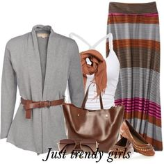Fashion maxi skirts for woman   Just Trendy Girls