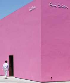Pink Boutique, the Paul Smith store on Melrose Ave.
