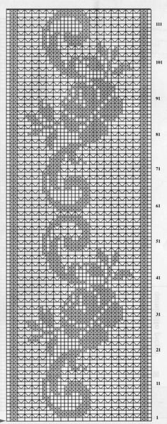 ideas for crochet table runner diagram tablecloths doily patterns Filet Crochet Charts, Crochet Borders, Crochet Motif, Crochet Designs, Crochet Doilies, Crochet Flowers, Irish Crochet, Knitting Charts, Doily Patterns