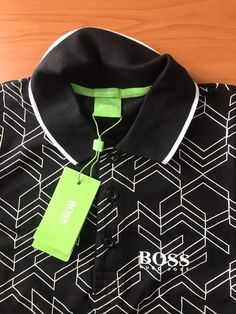 140eb694d Hugo Boss Modern Fit New T-shirt Polo Paddy size M Color Black #HugoBoss