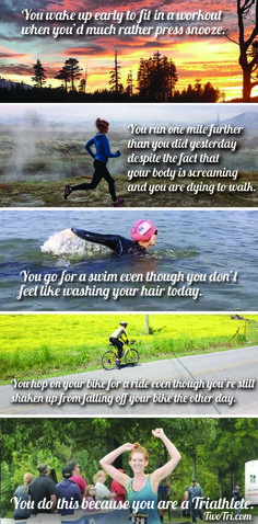 You are a triathlete | TwoTri.com