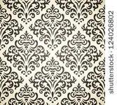 damask vintage seamless pattern ...