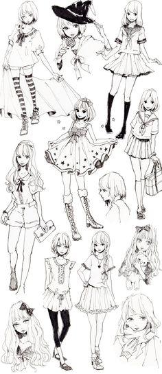 Resultado de imagen para anime positions