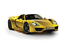 2015 Porsche 918 Spyder - Provided by Automobile