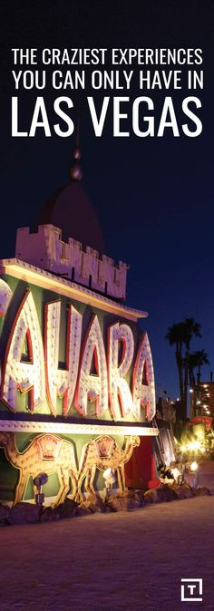 Las Vegas 10 things you have to do