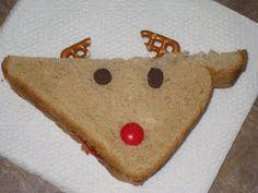 reindeer sandwich and other cute reindeer activities