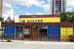 Muzik: uma Hamburgueria em container em Curitiba