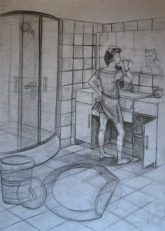 Architectural Drawing Tips Drawing Wallpaper, Perspective Drawing, Image Categories, Woodland Party, Drawing Tips, Sketches, Architecture, Drawings, Illustration