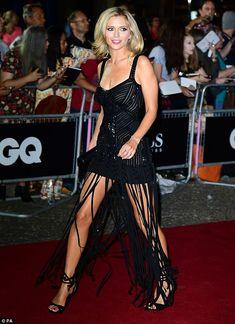 Rachel Riley teases leg in fringe dress at GQ Men of the Year Awards Rachel Riley Bikini, Rachel Riley Legs, Rachael Riley, Gq Men, Fringe Dress, Beautiful Legs, Amazing Legs, Beautiful Women, Woman Crush