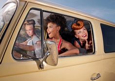 50s Pin-Up Photography Inspiration by Ana Dias