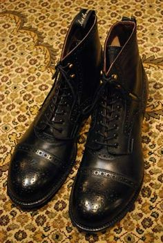 """Picked these """"foot the coacher"""" boots up today in Shinjuku"""