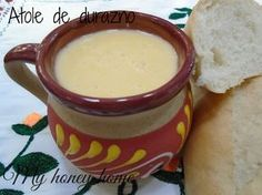 ATOLE DE DURAZNO | ~Honey home~ Real Mexican Food, Mexican Drinks, Mexican Dishes, Yummy Drinks, Healthy Drinks, Yummy Food, Atole Recipe, Best Mexican Recipes, Snack Recipes