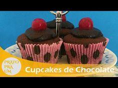 Prato Pra Um - Cupcake de Chocolate com Cobertura de café