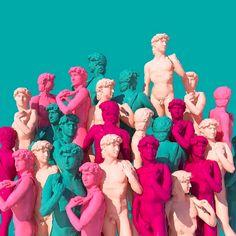 Creative Art, Direction, Lee, Seoul, and Picdit image ideas & inspiration on Designspiration Sculpture Art, Sculptures, Arte Pop, Vogue Covers, Grafik Design, Vaporwave, Kitsch, Art Direction, Collage Art