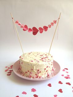 bunting for cakes - Google Search