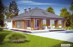Projekty domów ARCHIPELAG - Lorena G2