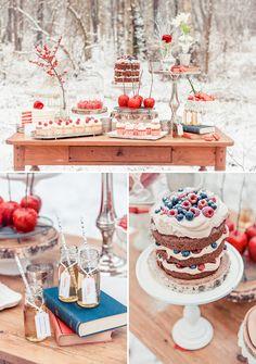 """""""Snow White Theme"""" Getting married in Germany is quite different from the US. Whole new set of traditions! http://www.gorara.com/hochzeitsmesse-in-riesa/ Schneewittchen Hochzeit Inspiration von Zuckermonarchie"""