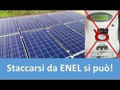 Tutorial: impianto FV ad isola. Staccarsi dall'Enel si può! - YouTube Solar Panels, Tutorial, Outdoor Decor, Arduino, Container, Youtube, Snow, Houses, Tecnologia