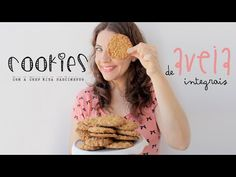 La Dolce Rita: Cookies de Aveia Integrais