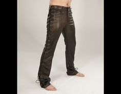 Image result for men's steampunk leather pants